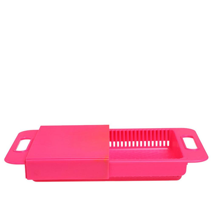 Cutting Boards - Retractable Cutting Board And Drain Basket