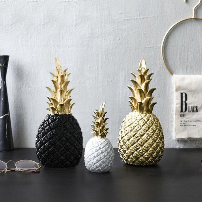 Golden Pineapple Kitchen Ornament