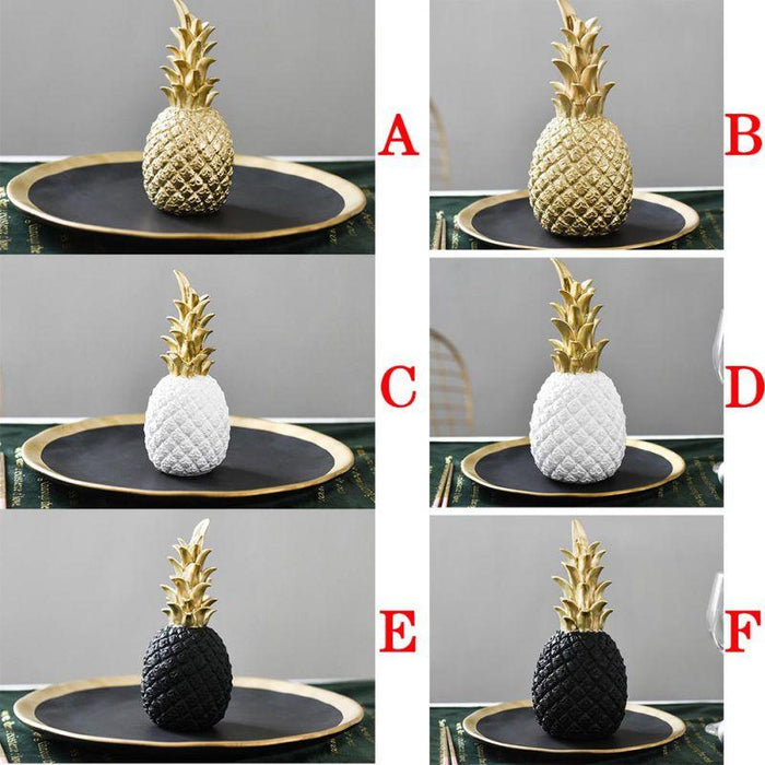 Golden Pineapple Kitchen Ornament With A Modern Nordic Style In Different Colors