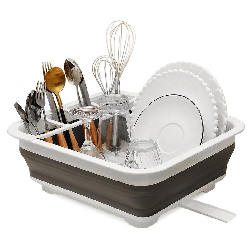 Dish Rack - Portable Collapsible Drying Rack