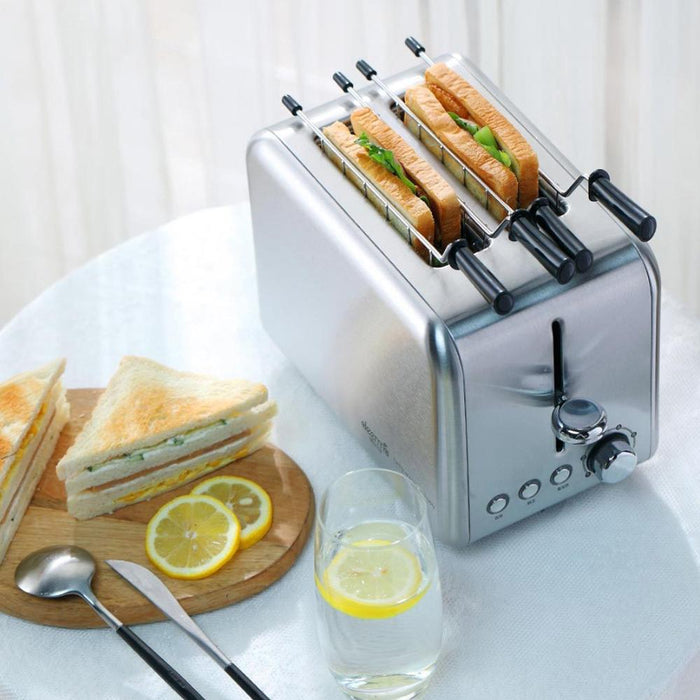 Electric Toaster - Household Bread Toaster