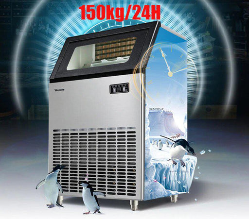 Ice Maker - Automatic Ice Cube Commercial Machine