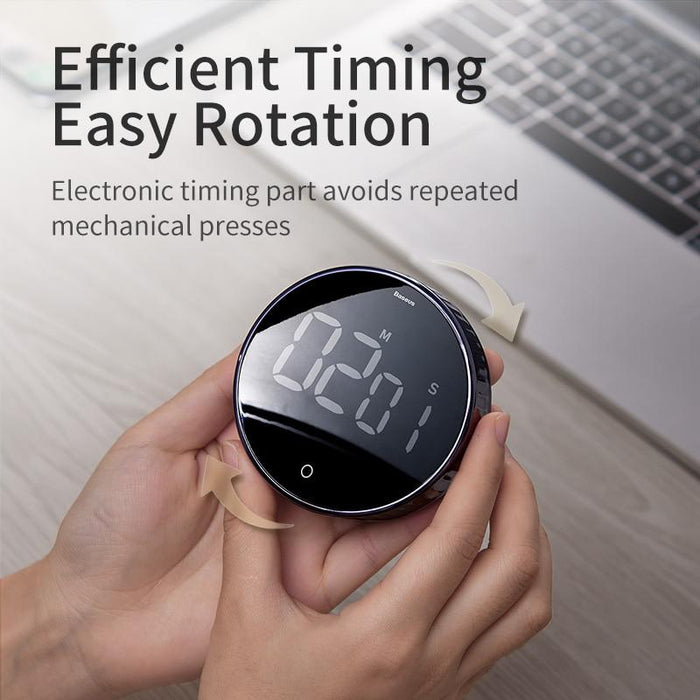 LED Digital Timer, An Electronic LED Digital Timer Easy Rotation