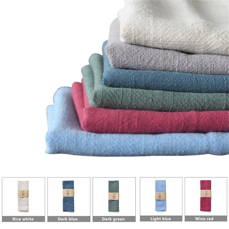 Kitchen Towels - Wedding Table Decorative Napkin Linen Cloth
