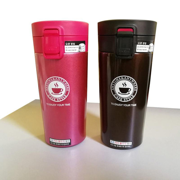 Tumblers - 380 ML Stainless Steel Insulated Tumbler Thermos