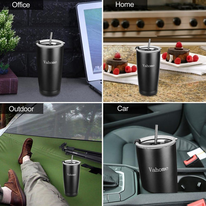 Tumblers - Brewing Travel Double Wall Stainless Steel Tumbler