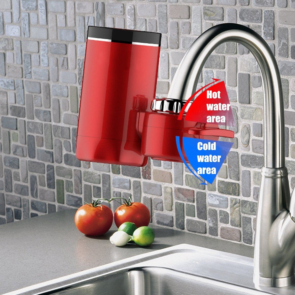 Water Heater - 3000W Digital LCD Display Electric Faucet