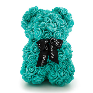 Tiffany Handmade Rose Teddy Bear -1