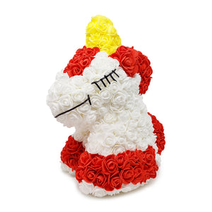 Red Luxury Handmade Rose Unicorn -1