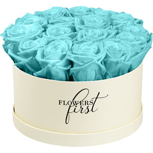 Infinity Tiffany Rose Flower Box -3