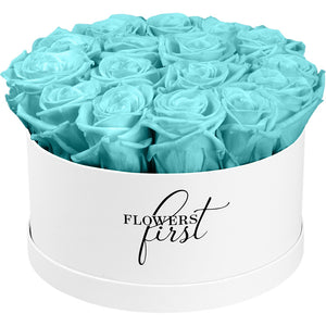 Infinity Tiffany Rose Flower Box -1