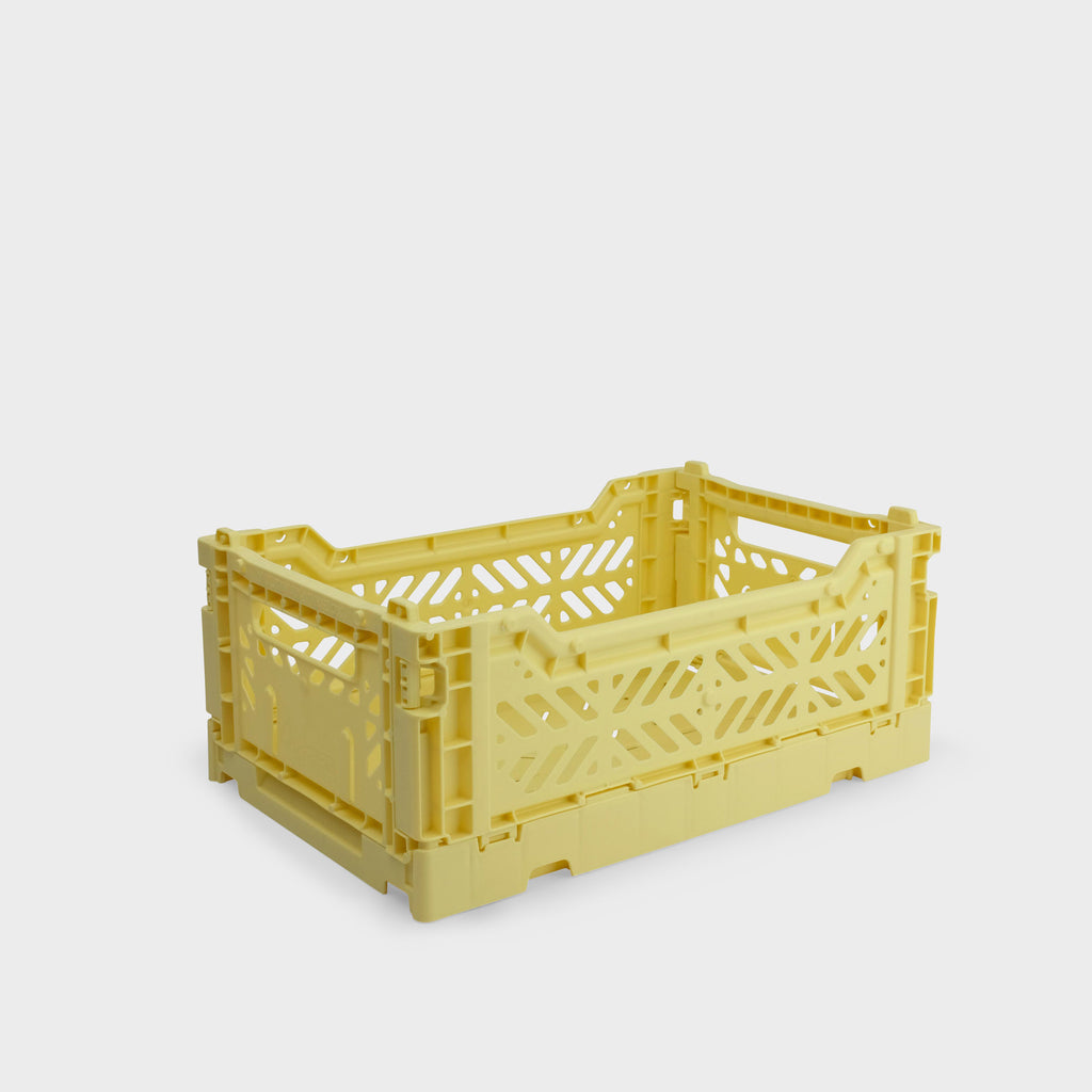 Banana Yellow Folding Crate (Mini) - Shrimp's House