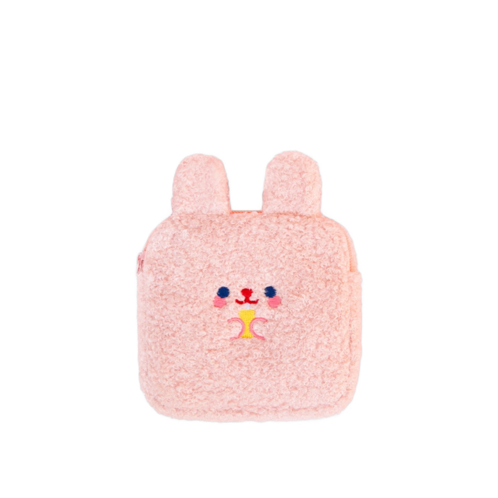Plush Mini Pouch - Shrimp's House