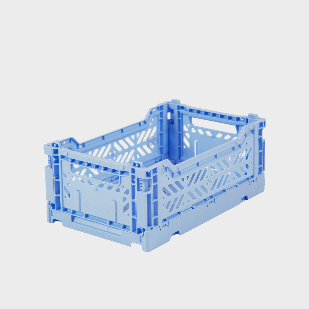 Baby Blue Folding Crate (Mini) - Shrimp's House