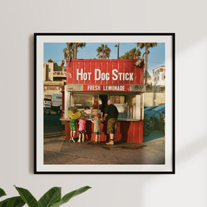 'Hot Dog Stick' Giclée Print - Shrimp's House