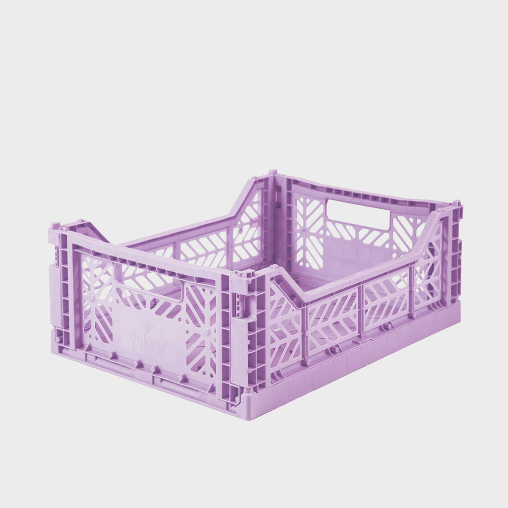 Lilac Folding Crate (Midi) - Shrimp's House