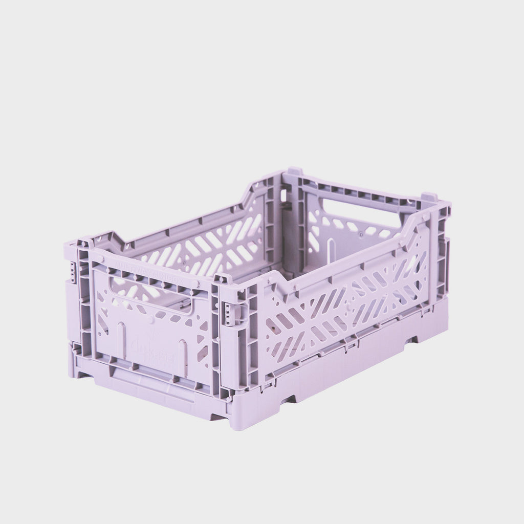 Lilac Folding Crate (Mini) - Shrimp's House