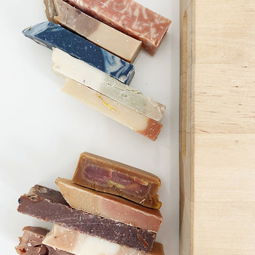 assorted soap samples