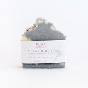 Charcoal Soap, Charcoal Soap Bar, Charcoal, Post Workout Bar, Charcoal Mint Soap, Charcoal Mint Soap Bar,