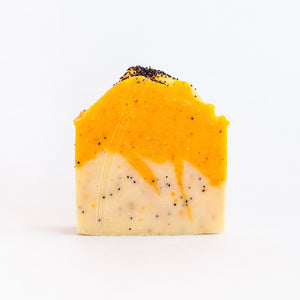 Citrus Poppyseed Soap, Lemon Poppyseed Soap, Lemon Poppyseed
