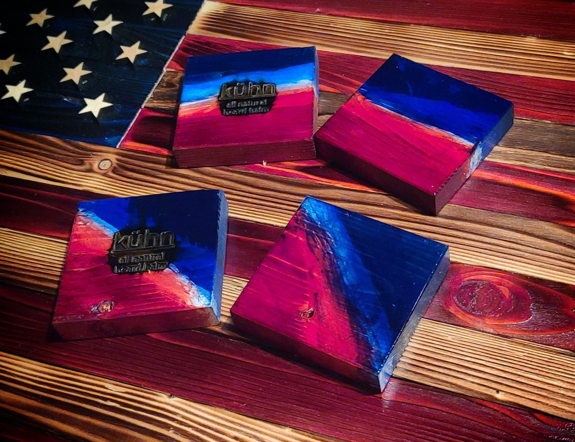 Flag with 2 USA Mächtig Boxes (-$40 if pick up) - Kühn - Products For Men