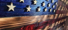 Load image into Gallery viewer, Handmad American Flag - Cedarwood (-$40 if pick up)