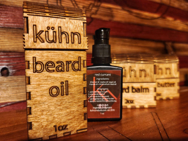 NEW Red Currant Beard Oil