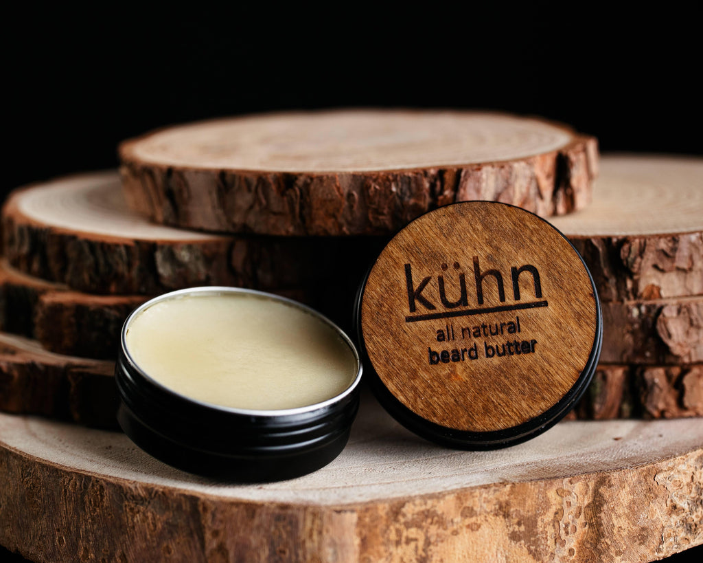 All natural beard butter with premium ingredients. Not greasy and long lasting will leave your beard soft all day long. Our beard butter is made right here in Utah. We use cold pressed marula oil, shea nut oil, meadowfoam seed oil, jojoba oil, argan oil. It won't leave you feeling greasy and will leave you smelling amazing.