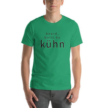 "Load image into Gallery viewer, Short-Sleeve T ""beard, built by kühn"""