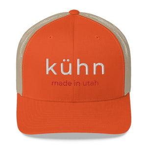 "Kühn Trucker Cap - ""made in utah"""