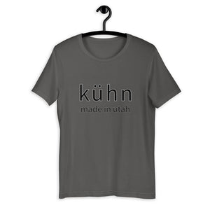 "Uni-Sex T-Shirt, ""kühn, made in utah"" - Kühn - Products For Men"