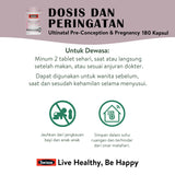 Swisse Ultinatal Pre-Conception & Pregnancy 180 Kapsul