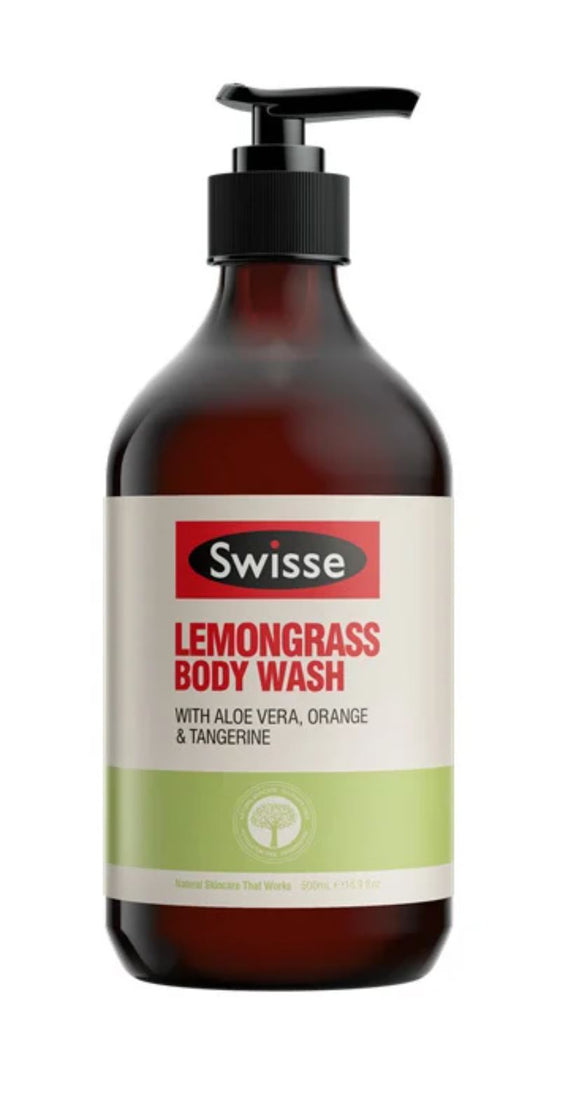 Swisse Lemongrass Body Wash 500ml