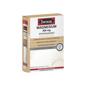 Swisse Ultiboost Magnesium 300mg 60 Effervescent Tablet