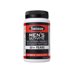 Swisse Men's Ultivite 50+ 90 Tablet