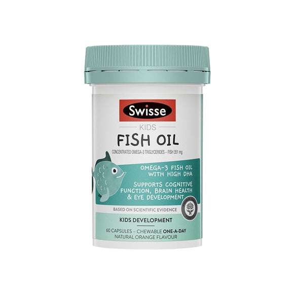 Swisse Kids Fish Oil 60 Kapsul