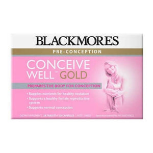 Blackmores Conceive Well Gold 56 Tablet