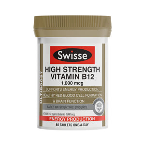 Swisse Ultiboost High Strength Vitamin B12 60 Tablet