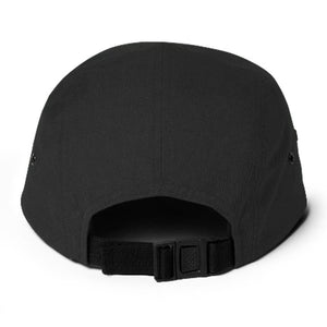 5 Panel Cap - Black - GMR Wear