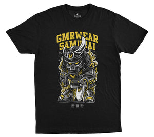 First Edition Tee - Samurai - Black - GMR Wear
