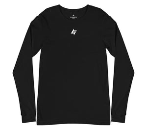 Icon Long Sleeve Tee - Black - GMR Wear