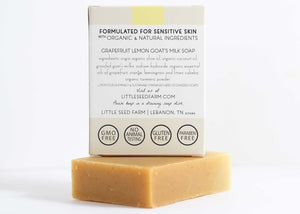 Grapefruit Lemon Facial and Body Bar
