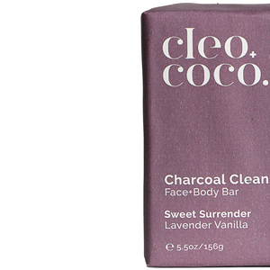 Charcoal Cleanse, Face+Body Bar
