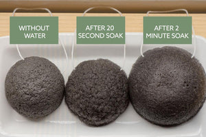 Face and Body Charcoal Sponge