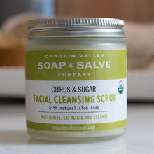 Load image into Gallery viewer, Citrus & Sugar Facial Cleansing Scrub