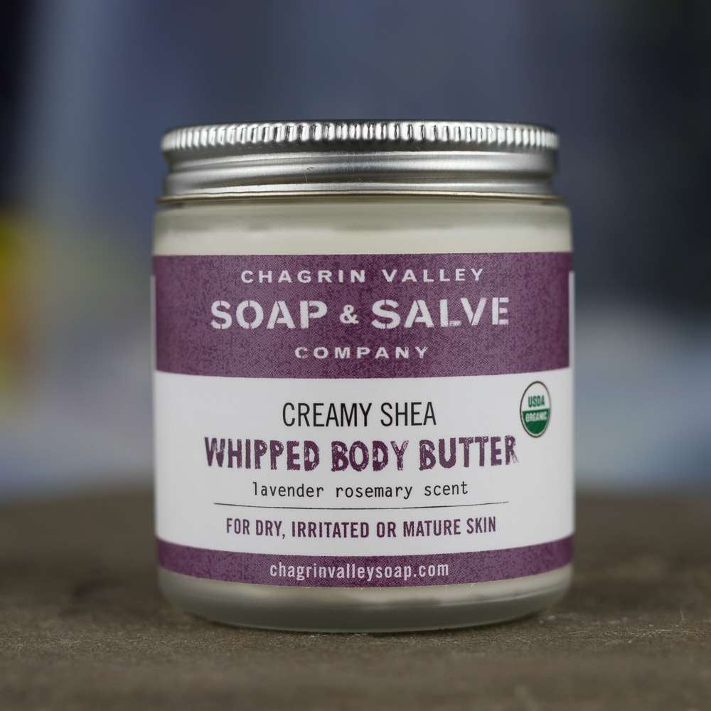 Lavender Rosemary Whipped Shea Butter