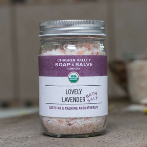 Lavender Rosemary Bath Salt