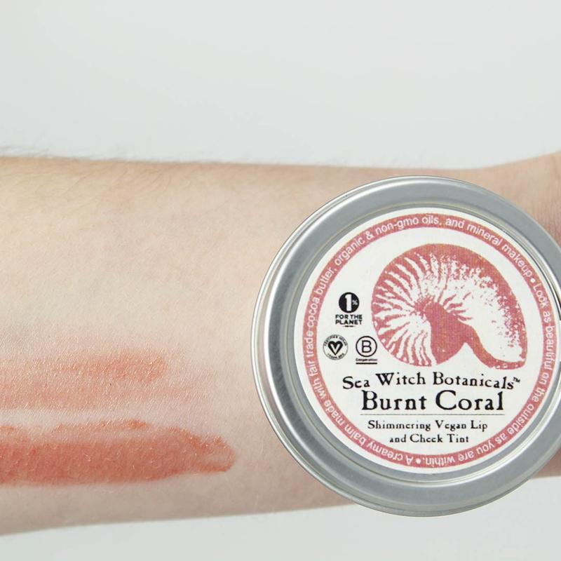 Burnt Coral Lip and Cheek Tint