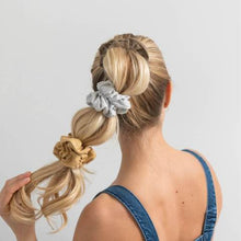 Load image into Gallery viewer, Organic Scrunchies in Gold Sand