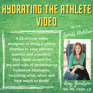 Hydrating the Athlete Video